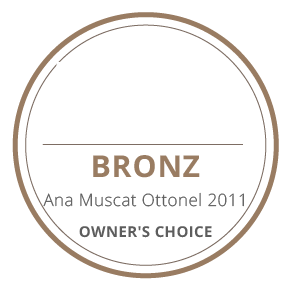 medalie bronz ana muscat ottonel 2011 owners's choice