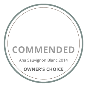 commended ana sauvignon blanc 2014 owners's choice