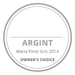 medalie argint maria pinot gris 2014 owners's choice