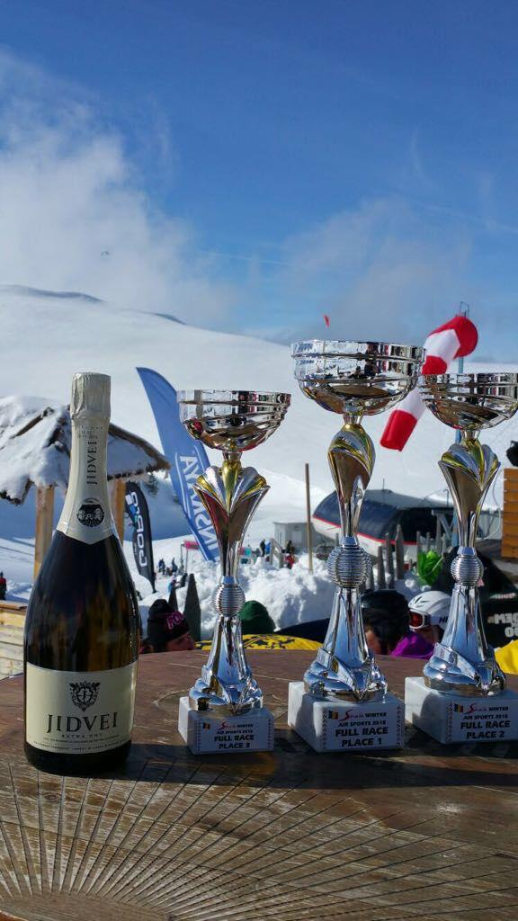 Jidvei, alături de Winter Air Sports 2018